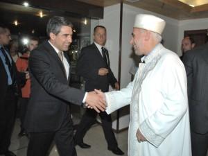 Президент и муфтий Болгарии