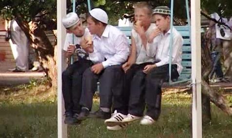 в детском лагере МУСЛИМ