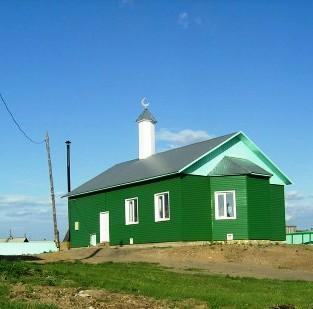 мечеть в Казачинском
