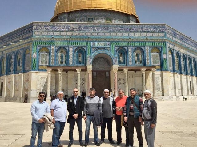 Делегация ДУМ в Израиле