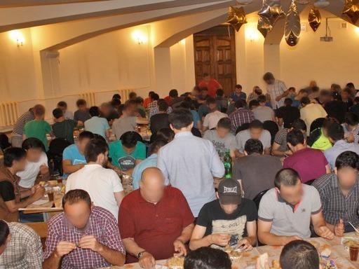 Ифтар в Майкопской Соборной мечети