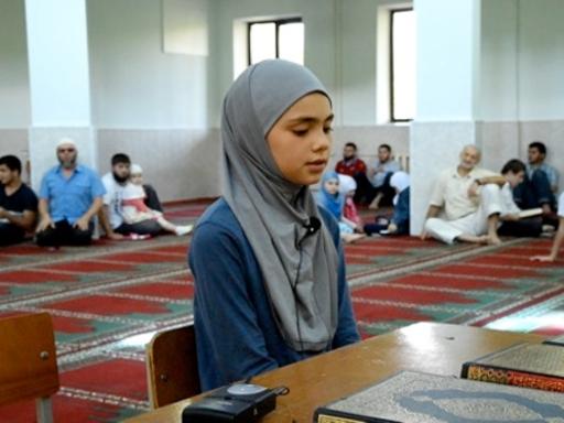 Конкурс чтецов Корана в Соборной мечети г. Майкопа