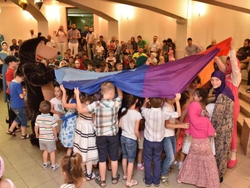 Детские викторины в Соборной мечети г.Майкопа
