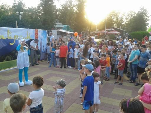 Празднование Курбан-Байрам в Майкопском Городском парке