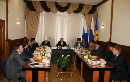 Прокурор Краснодарского края Леонид Коржинек встретился с представителями религиозных конфессий края