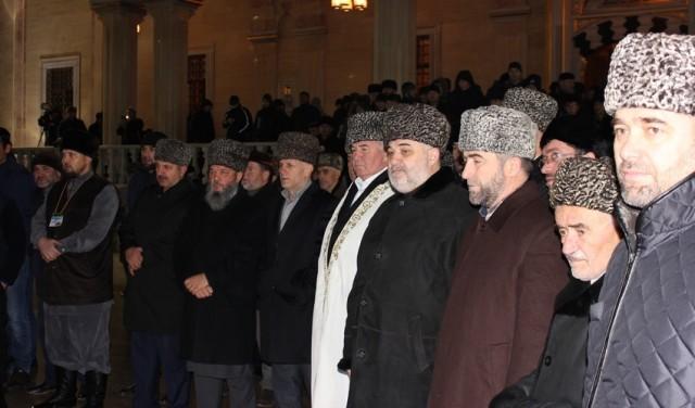праздик маулид ан-Наби в Грозном