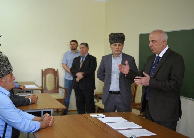 Встреча имамов и эфенди с Главой Адыгеи