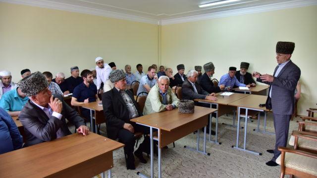 на встрече имамов с Главой Адыгеи