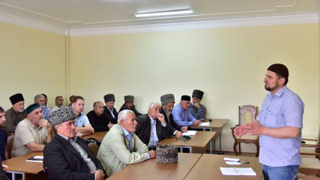 Встреча имамов с Главой Адыгеи