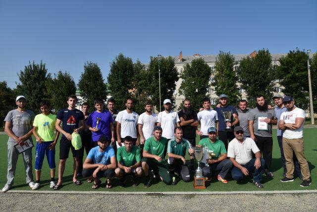 Участники турнира по мини-футболу