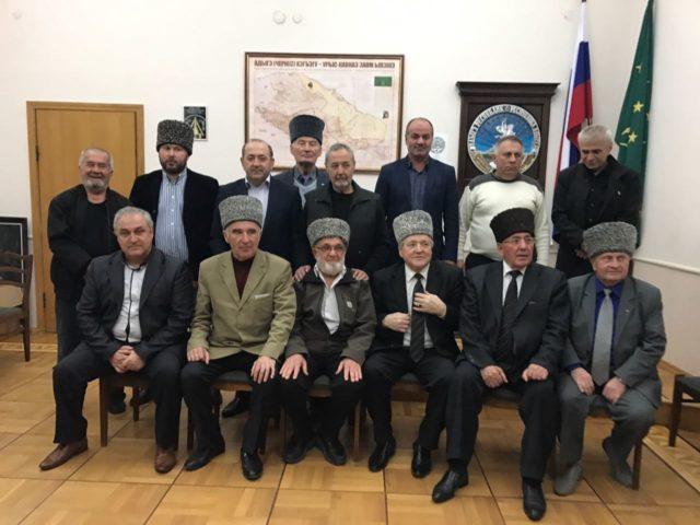 """Встреча членов Исполкома """"Адыгэ Хасэ"""" и делегации израильских адыгов"""