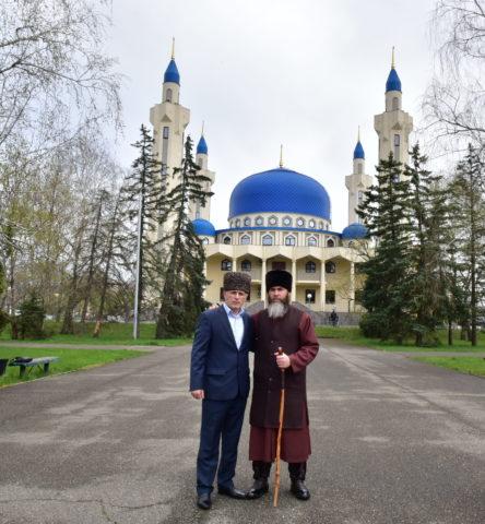 Муфтий РА и Кк Карданов А. и Муфтий ЧР Межиев С.