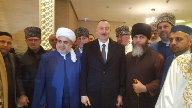 Встреча с президентом Азербайджана Алиевым И.