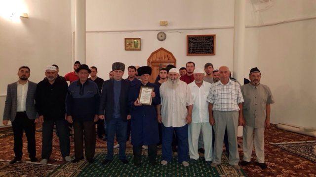Коллективный ифтар и таравих-намаз в ауле Ходзь