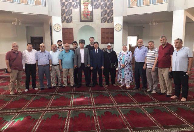 Делегация адыгской диаспоры из Турции посетила Майкопскую Соборную мечеть