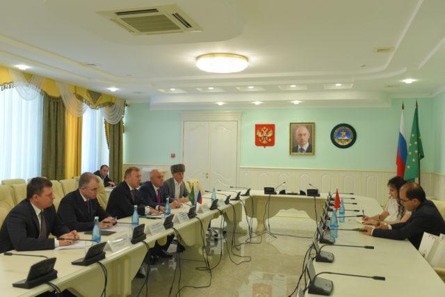 Встреча в Доме правительства Адыгеи