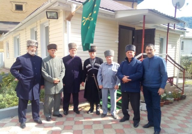Делегаты Духовного управления мусульман Адыгеи и Краснодарского края встретились с Русланом Гвашевым