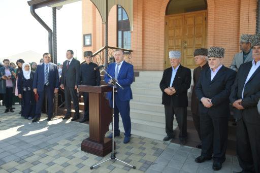 Открытие мечети в Гавердовском