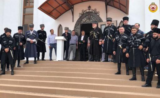 Открытие мечети в Энеме