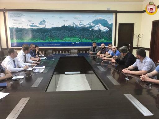 Встреча делегации ДУМ РА и КК с администрацией г. Сочи