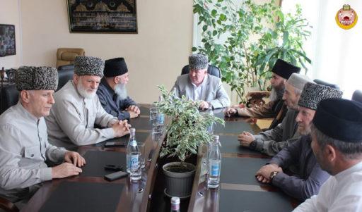 Заседание Совета муфтиев КЦМСК