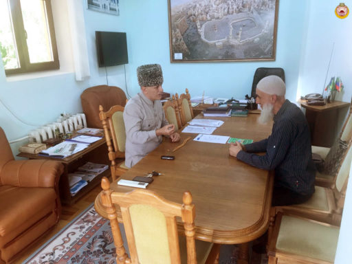 Муфтий Абхазии Тимур Дзыба посетил Адыгею
