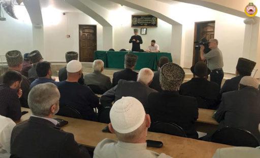 Собрание имамов и эфенди в Майкопе