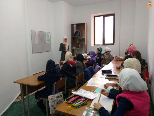 Занятия в Соборной мечети г.  Майкопа