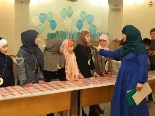 В Соборной мечети г. Майкопа прошла викторина для детей