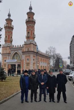 Муфтий А. Карданов принял участие в конференции во Владикавказе