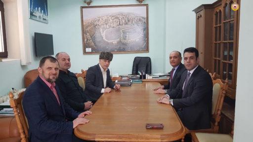 Муфтий Аскарбий Карданов встретился с послом Иордании в РФ