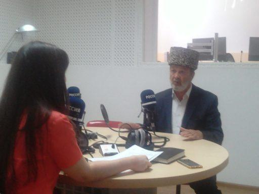 Имам Амурбий Ешев стал героем радиопередачи ГТРК «Адыгея»
