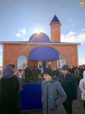 Открытие мечети в ауле Пшичо