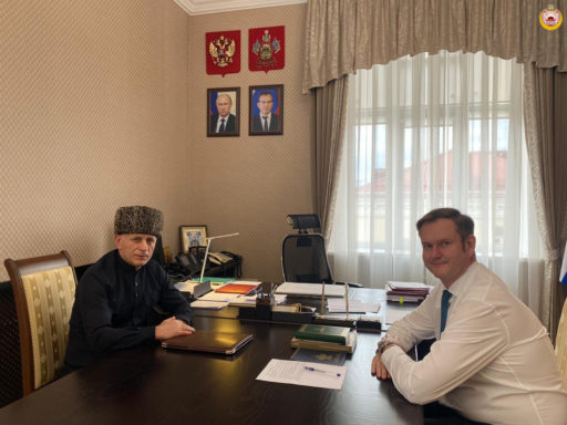 Муфтий А.Х. Карданов встретился с вице-губернатором Кубани С.К. Пуликовским