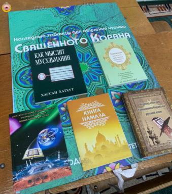В Соборную мечеть г. Майкопа поступили книги